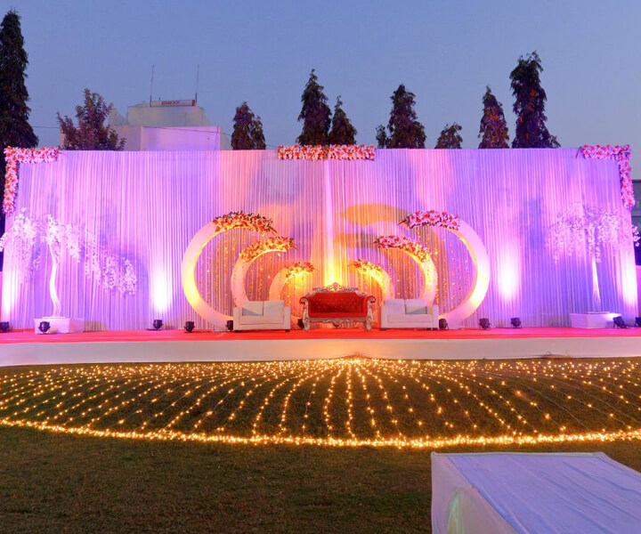 Reception Decoration in Baroda